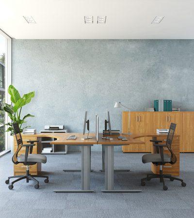 VIK biurko kształtowe